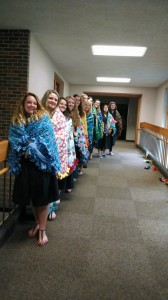 seniors with quilts